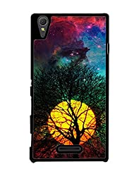 Aart Designer Luxurious Back Covers for Sony Xperia T3 + 3D F1 Screen Magnifier + 3D Video Screen Amplifier Eyes Protection Enlarged Expander by Aart Store.