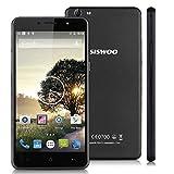 "Siswoo C55 - Smartphone Móvil Andriod Lte 4G (64 Bits, Pantalla 5.5"", MediaTek, Octa Core, 720 x 1280P, 16Gb Rom 2Gb Ram, Cámara 13Mp, Dual Sim), Negro"