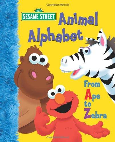 Animal Alphabet: From Ape to Zebra (Sesame Street Start-To-Read Books)