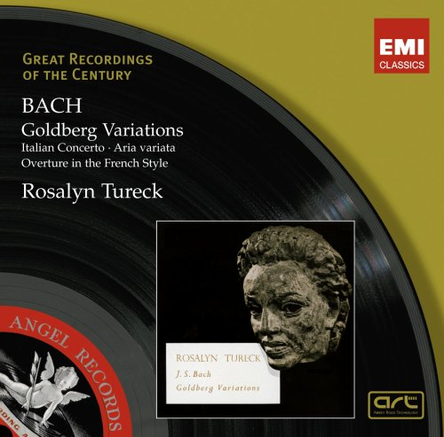 Bach: Goldberg Variations Rosalyn Tureck 東芝EMI株式会社