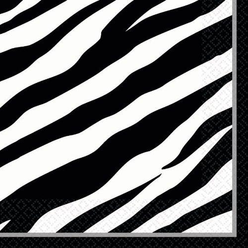 Zebra Luncheon Napkin - 1