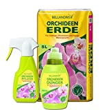 Bellandris Orchideen-Set mit Orchideenerde