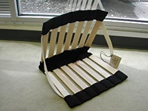 The Howda Seat - The Original Howda Seat Portable Folding Stadium Chair from Howda Designz, Inc.