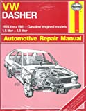 img - for Vw Dasher '74-'81 book / textbook / text book