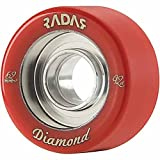 Radar Wheels Diamond Roller Skate Wheel ~ Riedell