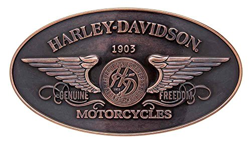 Harley-Davidson Women`s Genuine Freedom Belt Buckle, Antique Copper HDWBU10965