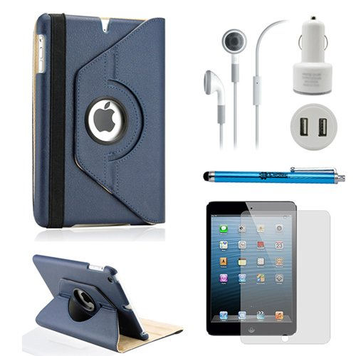 Learn More About Gearonic TM iPad Mini 5-in-1 Accessories Bundle Rotating Case for Business and Trav...