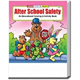 After School Safety Coloring and Activity Book Trade Show Giveaway