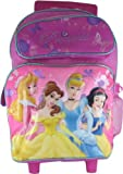Disney Princess 17 Rolling School Backpack