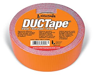 INTERTAPE POLYMER GROUP Intertape 20C-OR 2 All Purpose DUCTape 1.87-Inches x 60-Yards, 9-Mil, Orange at Sears.com