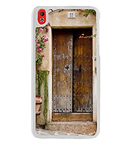 Vintage Door 2D Hard Polycarbonate Designer Back Case Cover for HTC Desire 816 :: HTC Desire 816 Dual Sim :: HTC Desire 816G Dual Sim