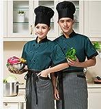 Veste de pâtisserie Cuisinier veste hotel veste serveuse veste unisex de cuisine professionnel uniforme restauration Cadeau pour cuisinier Confortable lavable