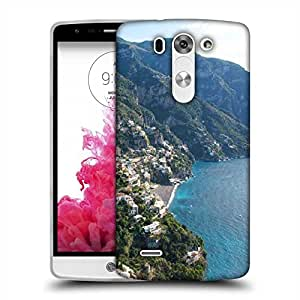 Snoogg White Clouds Designer Protective Phone Back Case Cover For LG G3 BEAT
