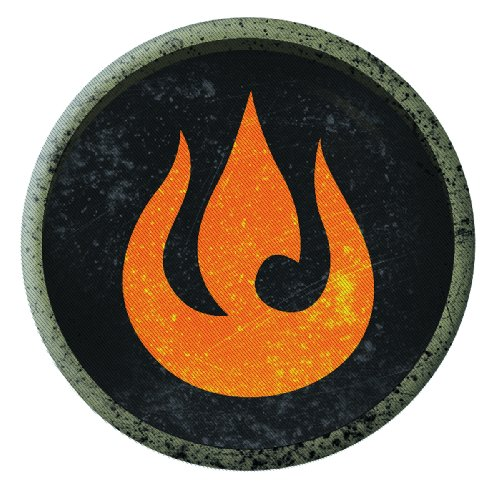 Dark Horse Deluxe The Legend of Korra: Fire Patch