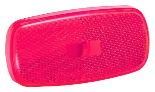 Bargman 34-59-010 #59 Series Red Clearance Light Replacement Lens