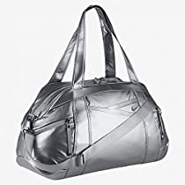 Nike Victory Gym Club Metallic Duffel Bag (Grey)