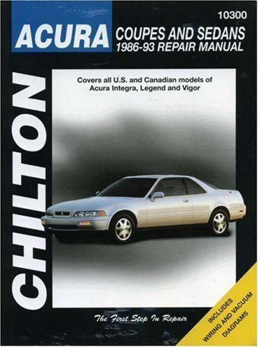 acura-coupes-and-sedans-1986-93-chiltons-total-car-care-repair-manual-by-chilton-1994-paperback