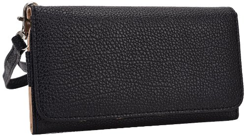 kroo-clutch-wristlet-wallet-for-smartphones-up-to-57-inch-retail-packaging-black