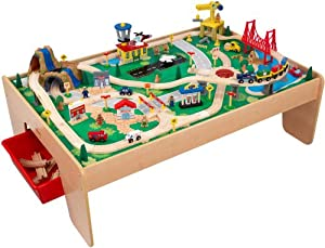KidKraft Waterfall Mountain Train Set and Table from KidKraft