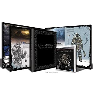 Game of Thrones Art Book Bundle PS3 Video Game