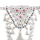 Online Silver Alloy Bellychain Handmade Fashion Jewelry Indian 37.25 Inches