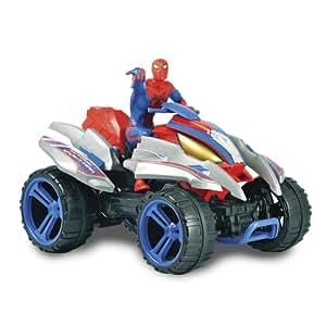 Silverlit - 85449 - Radio Commande Véhicule Miniature - R / C Amazing Spider Action Méga Quad - Spiderman