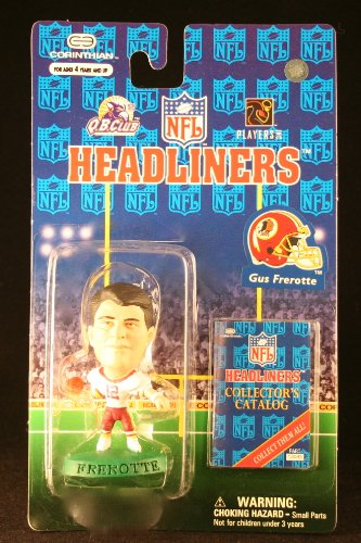 GUS FREROTTE / WASHINGTON REDSKINS * 3 INCH * 1997 NFL Headliners Football Collector Figure