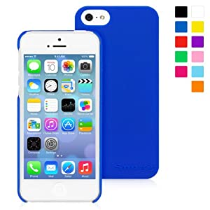 Snugg iPhone 5 / 5S Case - Ultra Thin Case with Lifetime Guarantee (Midnight Blue) for Apple iPhone 5 / 5S