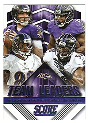 2015 Panini Score Football Team Leaders #11 Baltimore Ravens NM to Mint or Better