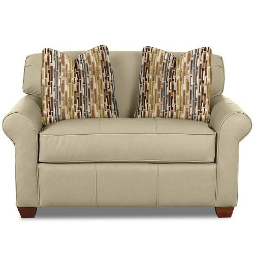 Simmons Upholstery Velocity Espresso Sofa Loveseat Twin