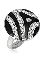 Art de France Anillo Zebra (Plateado / Blanco)