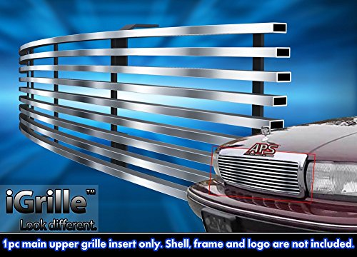 Stainless Steel eGrille Billet Grille Grill For 91-96 Chevy Caprice Insert (92 Chevy Caprice Grill compare prices)