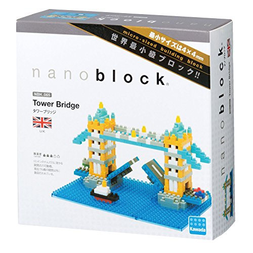 Kawada Nanoblock TOWER BRIDGE London UK Building Kit