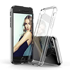 iPhone 7 Case, DACHUI Ultra-thin & Flexible Crystal-clear Protective Slim Premium Shock-Proof TPU Bumper Anti-Scratch For Apple iPhone 7 (Transparent)