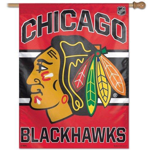 Chicago Blackhawks House Flag Vertical 2013 27x37 Banner