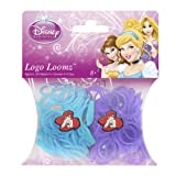 Disney Princesses Ariel Loom Bands and Charm Pack (200 Bands, 6 Clips and 1 Charm)