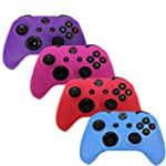 HDE Xbox One Controller Skin 4 Pack C...