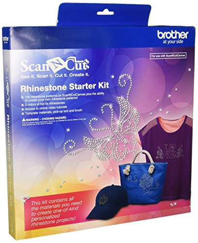 Brother ScanNCut CARSKIT1 Rhinestone Starter Kit (Brother Starter Embroidery Kit compare prices)