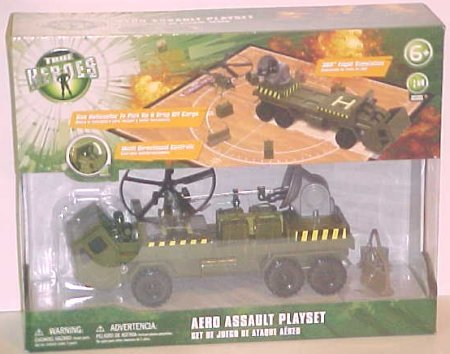Picture of ToysRUs True Heroes Aero Assault Playset Figure (B001AVPG16) (ToysRUs Action Figures)