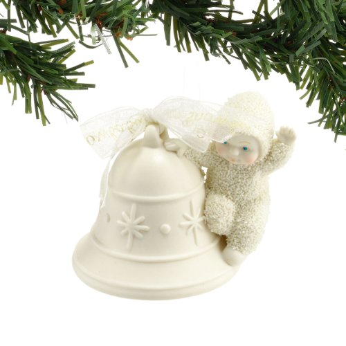 Snowbabies Ringing in Holidays Ornament, 3.25-Inch