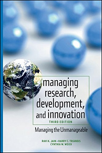 Managing Research, Development and Innovation (Wiley Series in Engineering An)