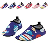 UMmaid Kids Toddler Water Swim Shoes Barefoot Aqua Socks for Beach Pool Surf Yoga