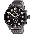 Zeno Men's 6221-8040-BK-A1 Super Oversized Black Chronograph Dial Watch