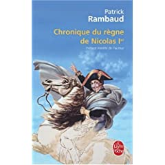 Chroniques du règne de Nicolas 1er - Patrick Rambaud