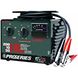 Schumacher PSC-2030T DSR ProSeries 10/30/200 Amp 6/12 Volt Manual Bench Top Battery Charger/Starter