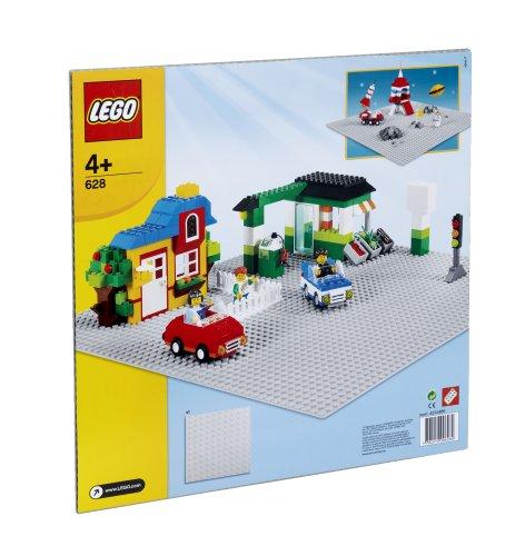 lego construction plaque de base grise 38 x 38 cm. Black Bedroom Furniture Sets. Home Design Ideas