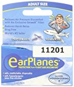 Travel Smart by Conair EarPlanes Adult Flight Ear Protection