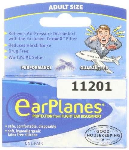 Buy Travel Smart by Conair EarPlanes Adult Flight Ear ProtectionB0000C20K9 Filter