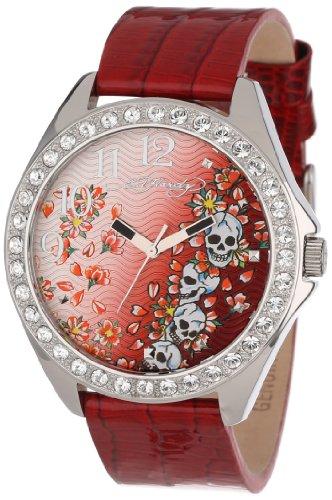 Ed Hardy Women's SL-SK Starlet Skull Watch