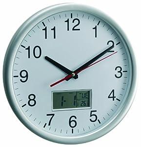 Jd Diffusion P9991 Horloge Ronde avec Calendrier